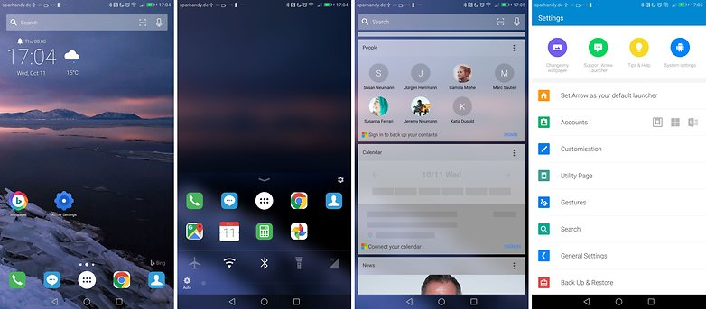 microsoft arrow launcher 2017