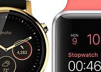 Moto 360 (2015) vs. Apple Watch: Vergleich der ungleichen Zeitgenossen