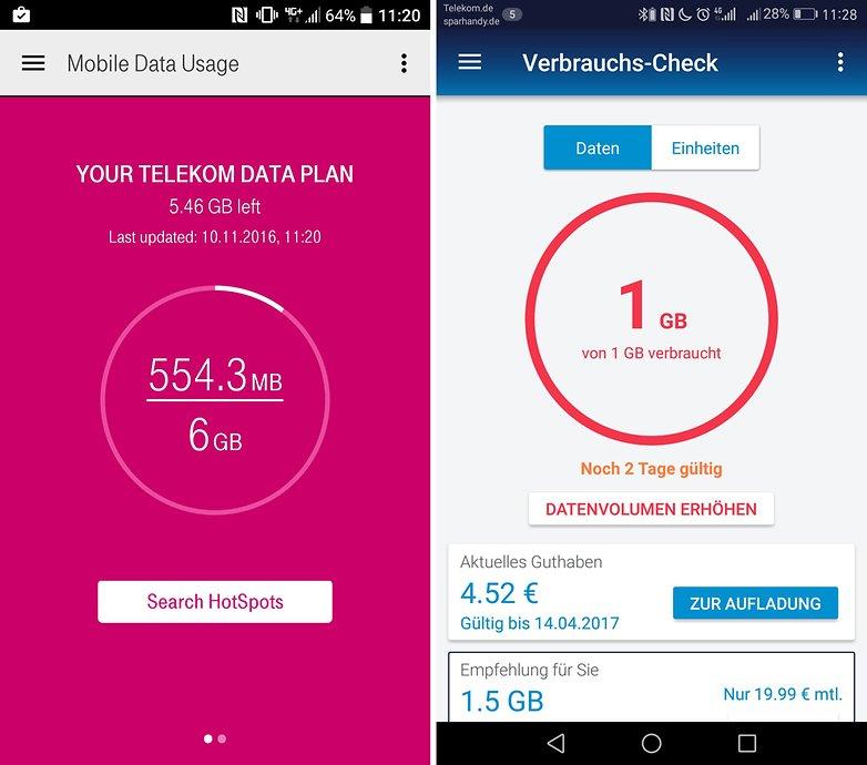 o2 telekom data usage