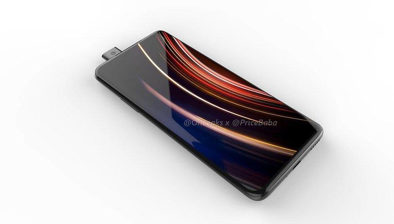 OnePlus 7: nuevos renders lo muestran con cámara deslizante