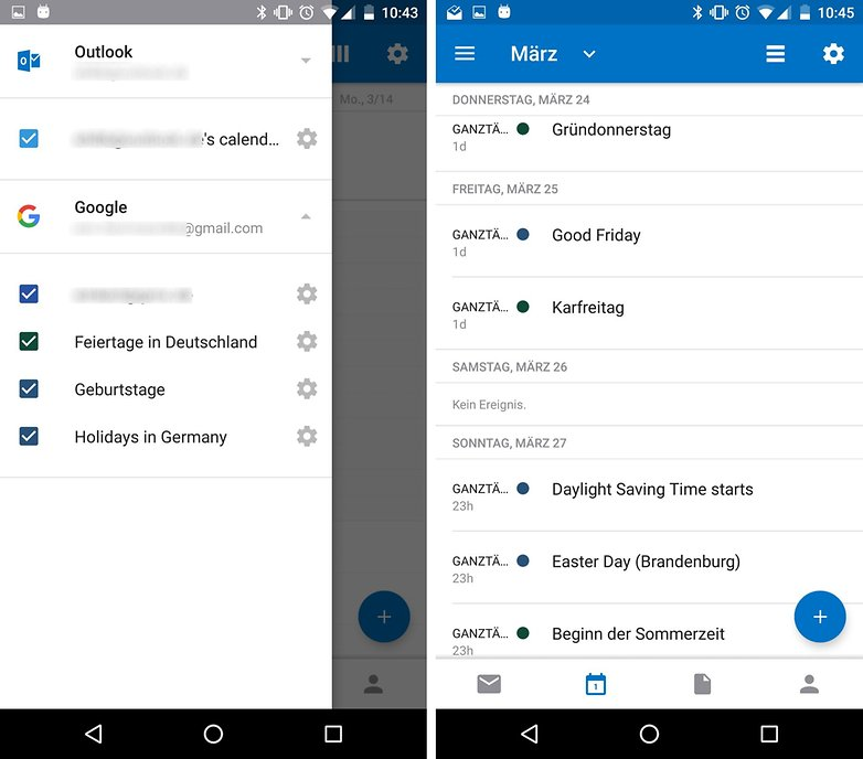 outlook app google calendar sync de 4