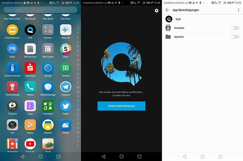 Bloatware: Huawei installiert ungefragt GoPro-App Quik