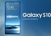 Neue Leaks zeigen Galaxy S10 randlos und ohne Notch