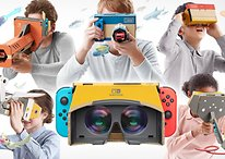 Nintendo mostra il suo dispositivo VR per Switch