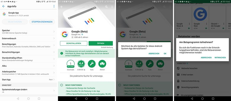 system ui crash uninstall google app de