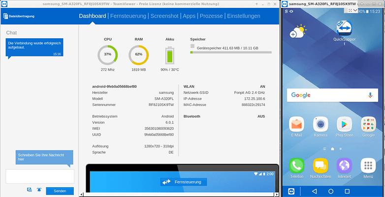 teamviewer desktop app remote control
