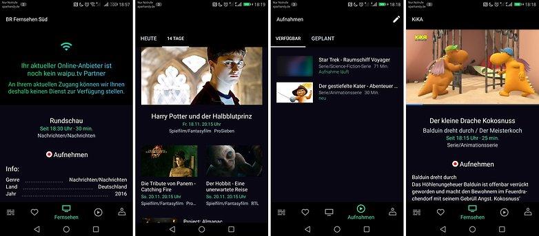 waipu tv streaming app