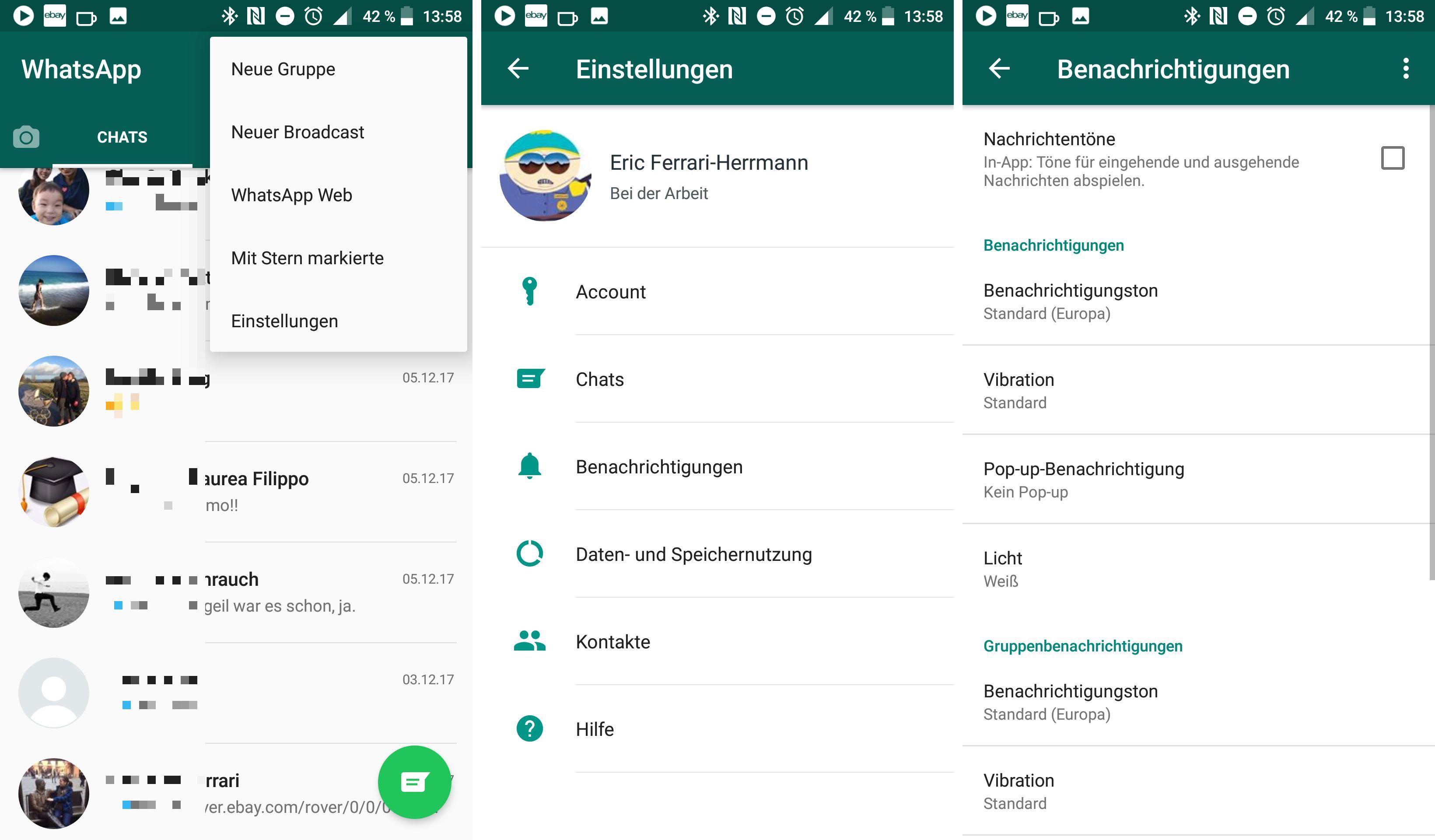 Whatsapp nachrichten symbole