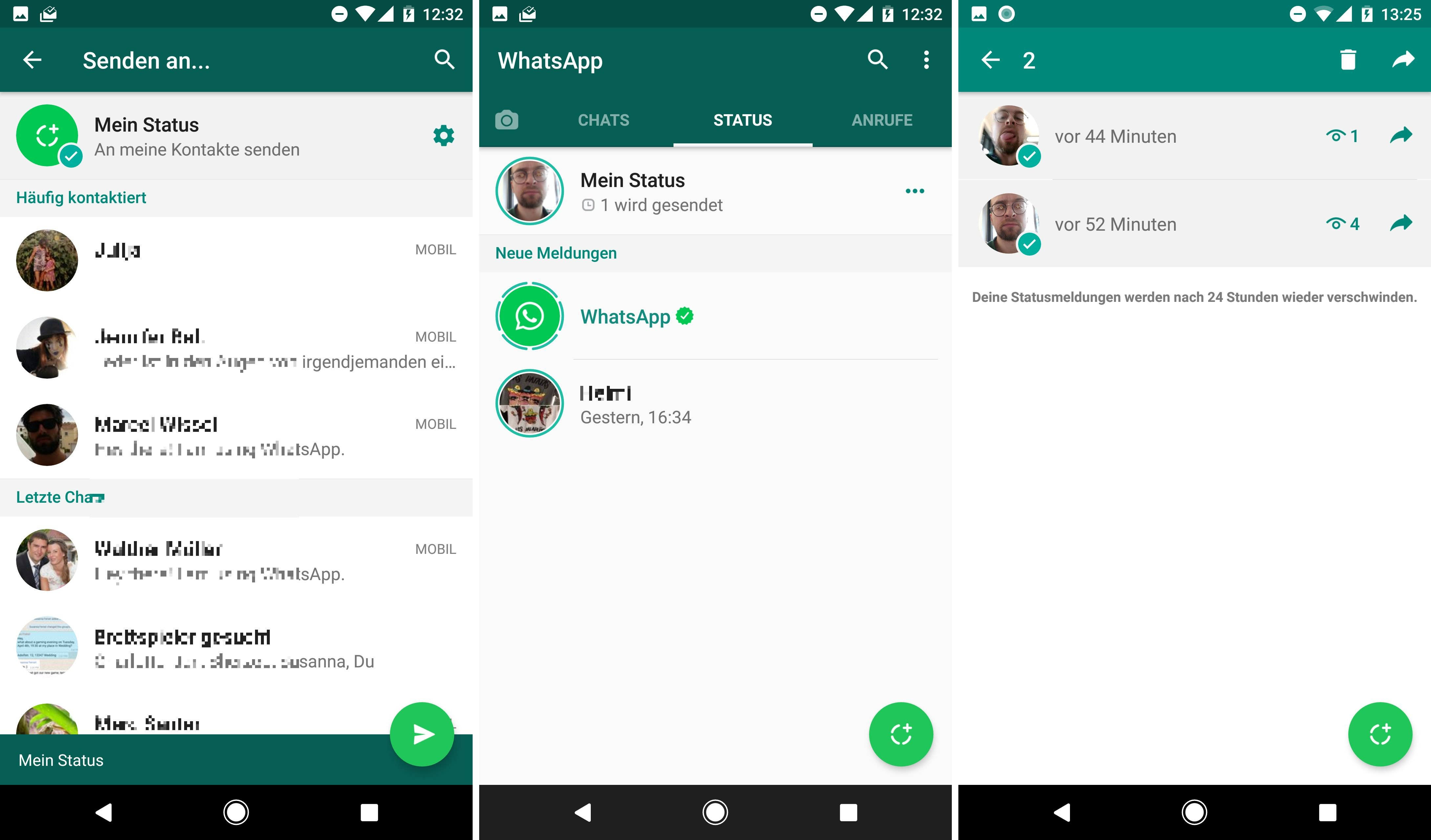 Whatsapp kontaktbild nicht sichtbar