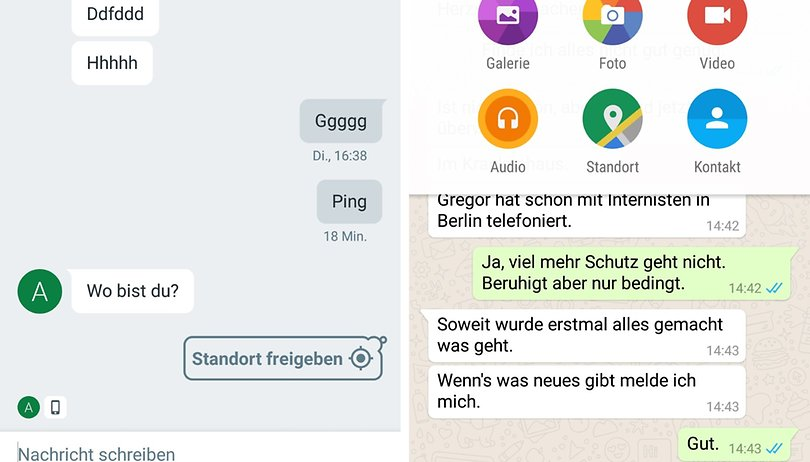 standort ortung android