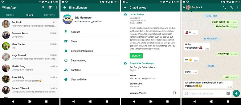 whatsapp screeenshots dec 2016 de