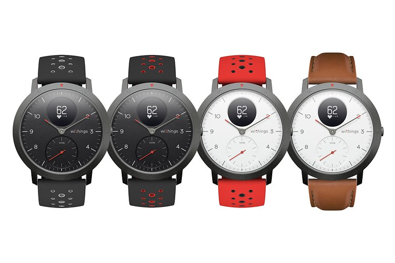 withings steel hr sport wristbands