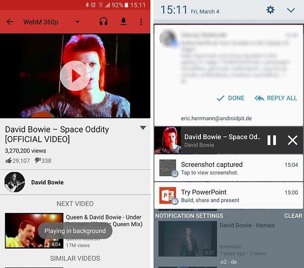 So könnt Ihr YouTube-Videos im Hintergrund abspielen | AndroidPIT