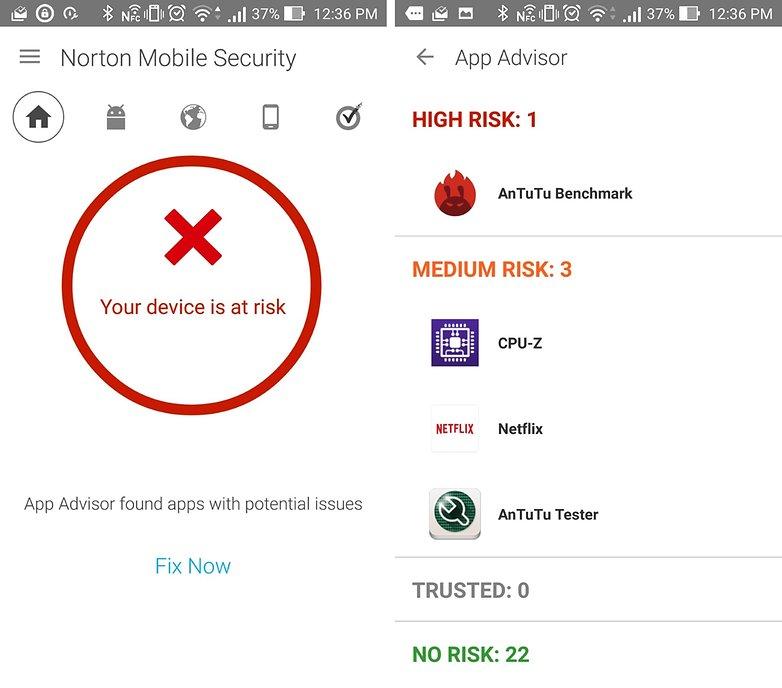 norton antivirus android 1