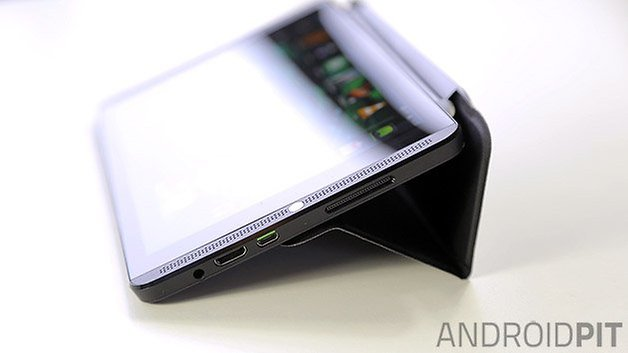 nvidia shield tablet android case stand close up