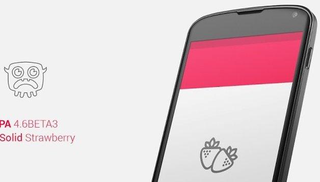 Paranoid Android 4.6: lançada versão Beta 3 Solid Strawberry