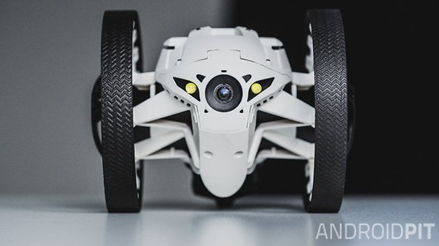 parrot minidrone jumping sumo front