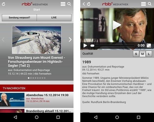 rbb mediathek app