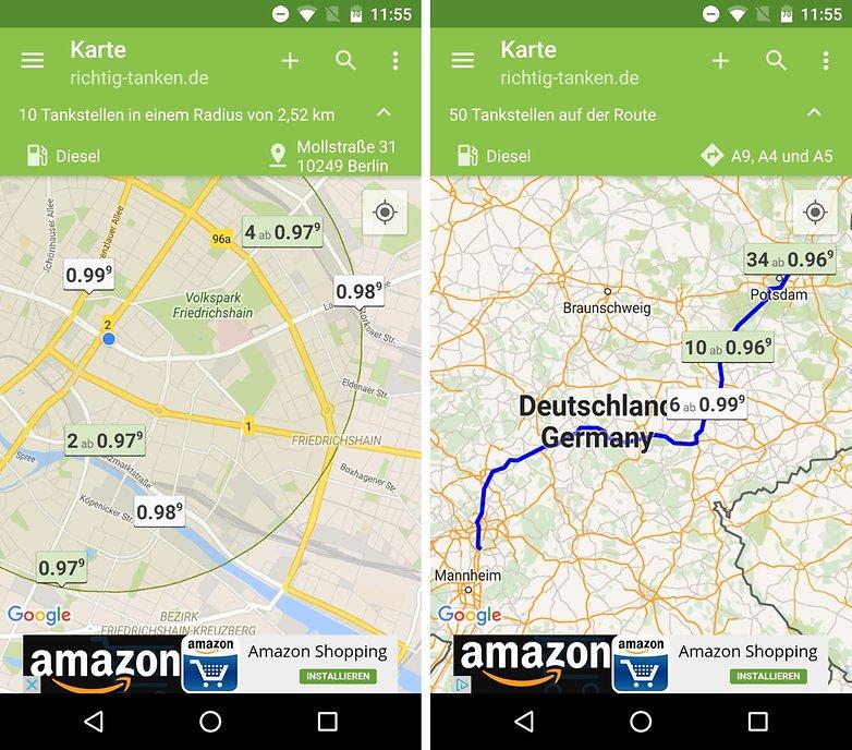 android apps f r autofahrer schneller g nstiger und sicherer ans ziel androidpit. Black Bedroom Furniture Sets. Home Design Ideas