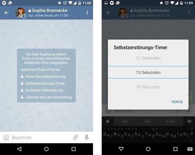 telegram safe chat de