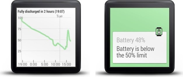 wear battery stats countdown graph limit