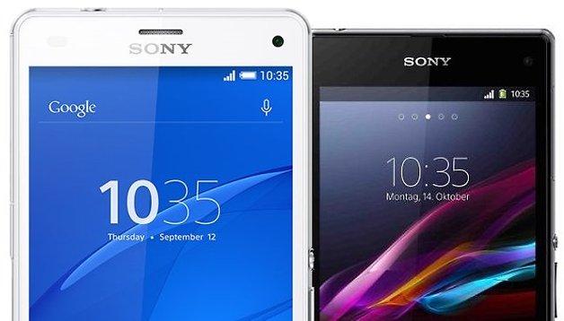 Test comparatif : Sony Xperia Z3 Compact vs Xperia Z1 Compact
