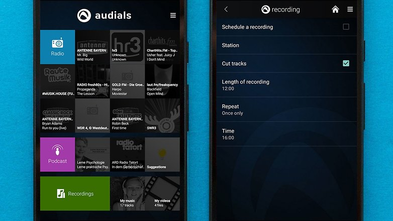 AndroidPIT best free android music apps audials