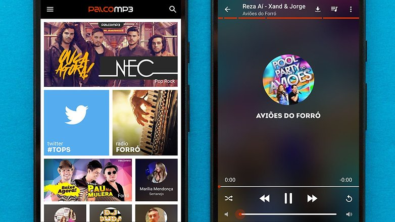 AndroidPIT best free android music apps palco mp3