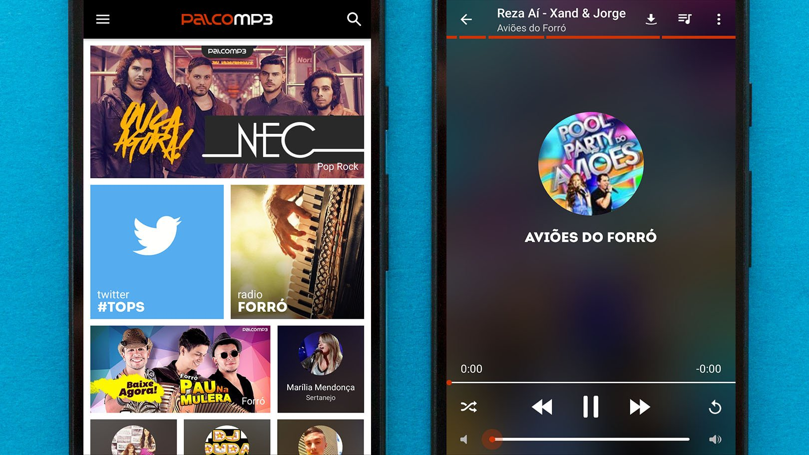 free music download apps for android cell phones