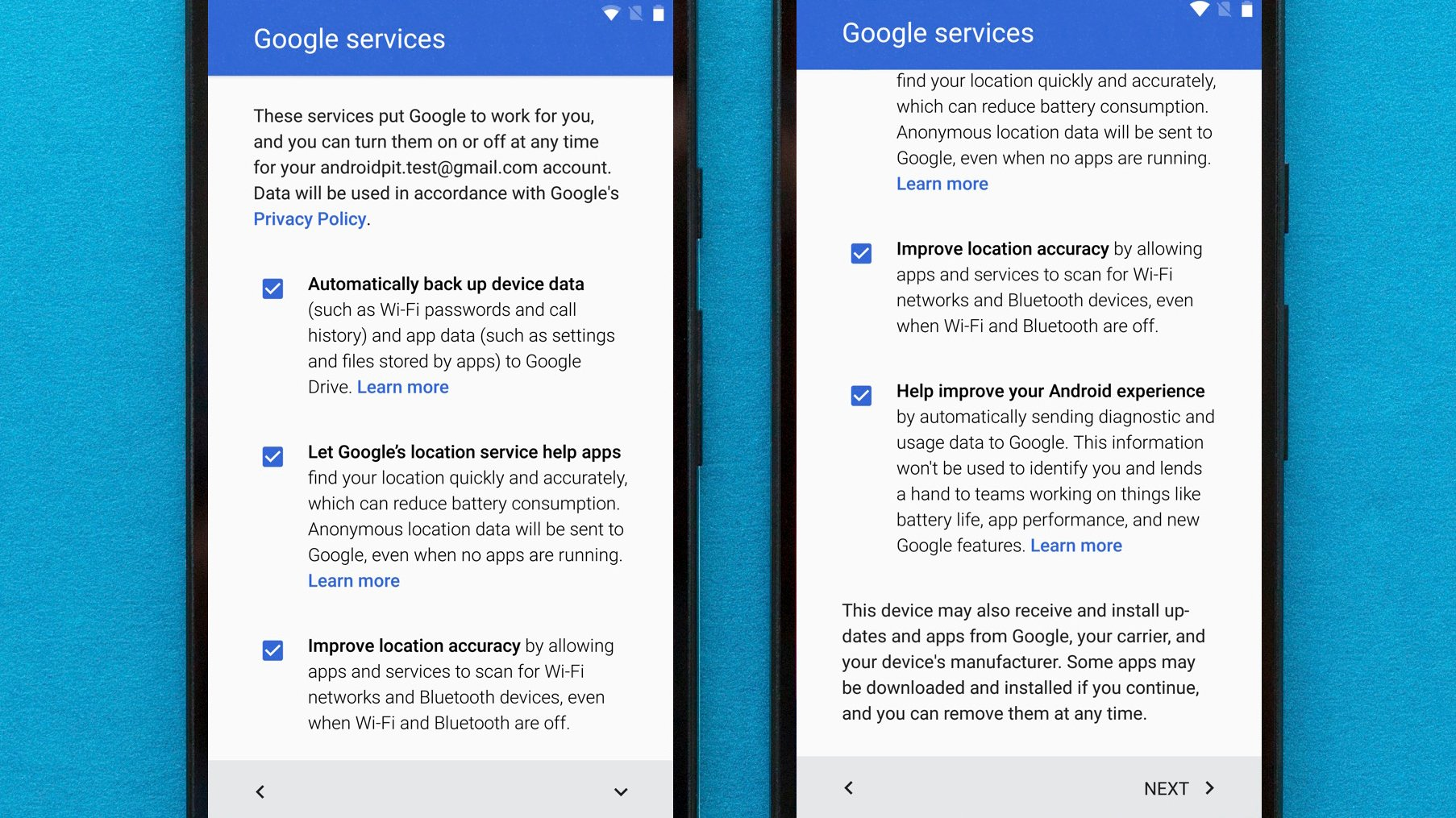Android Help App setting up your android smartphone for the first time: tips