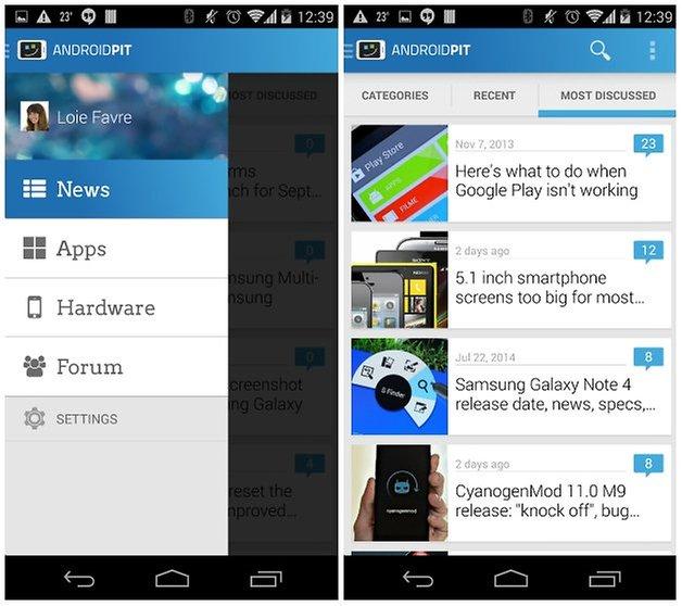 androidpit app screenshot two
