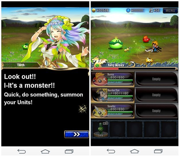 androidpit brave frontier screenshot 1