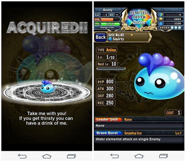 androidpit brave frontier screenshot 2