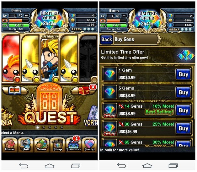 androidpit brave frontier screenshot 3