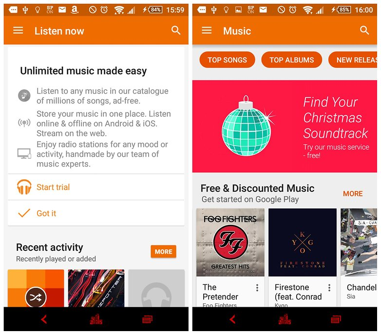 the best music streaming apps for android androidpit
