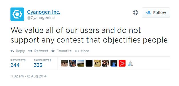 androidpit cyanogenmod tweet