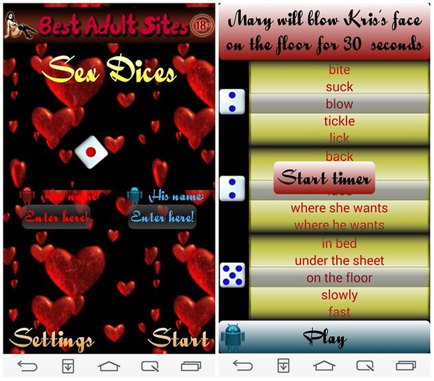 androidpit sex dice screenshot