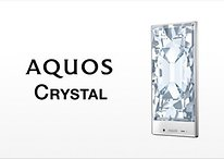 Stunning Sharp Aquos Crystal has world's thinnest smartphone frame