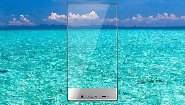 Sharp Aquos Crystal, um telefone quase sem moldura