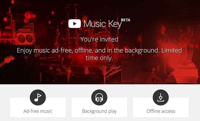 androidpit youtube music key