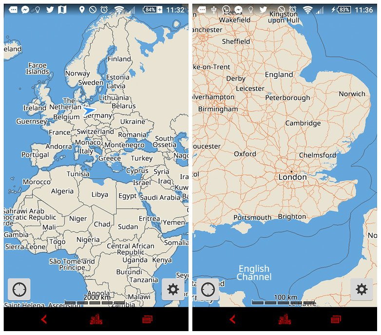 Best free offline map apps for android androidpit androidpit best offline map apps gumiabroncs Choice Image