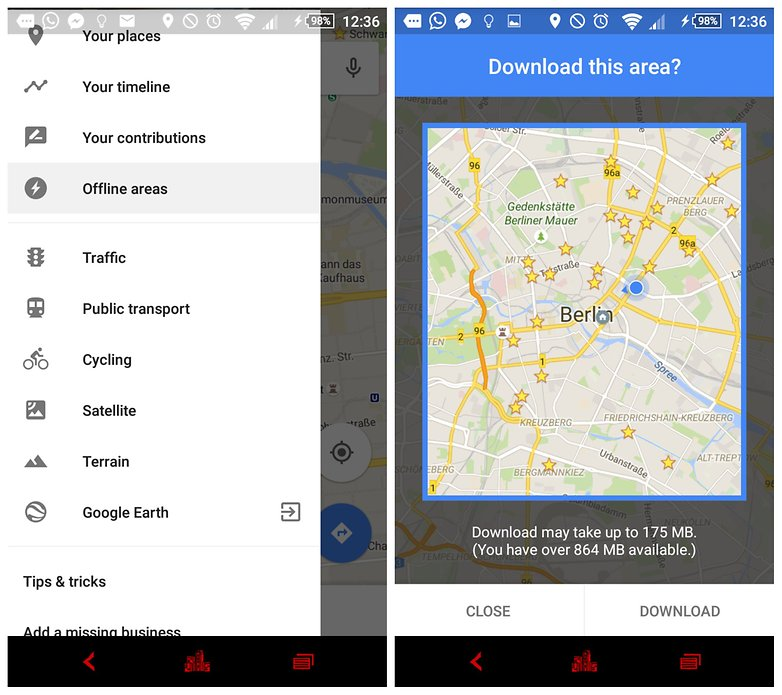androidpit google maps offline maps