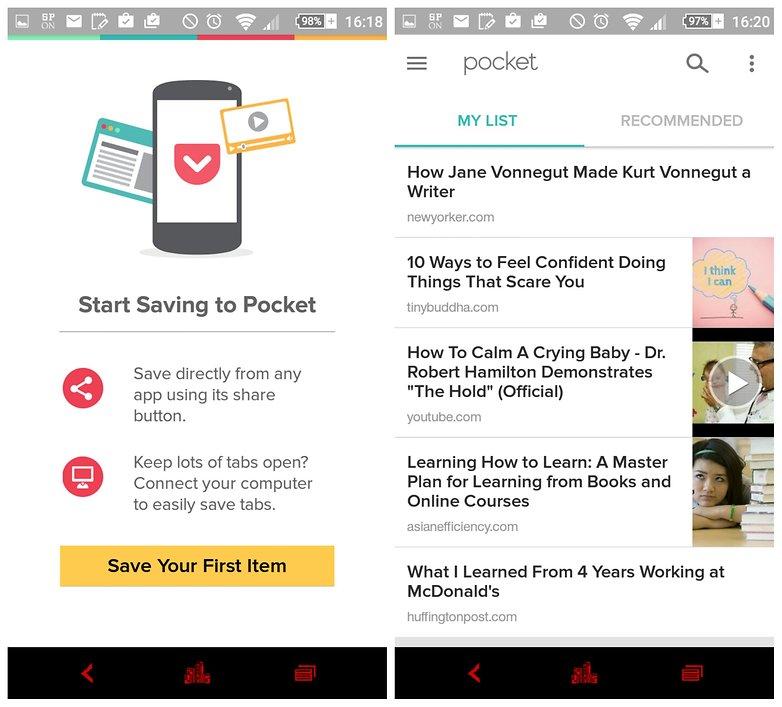 androidpit pocket offline app