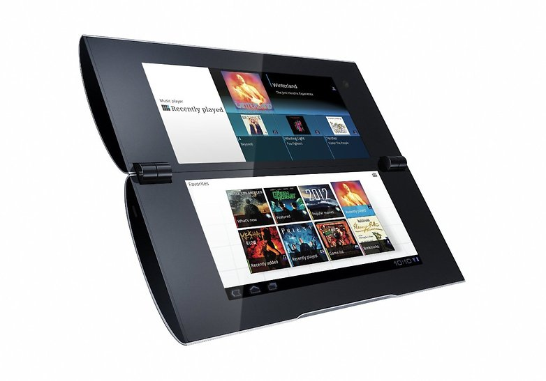 androidpit sony tablet p