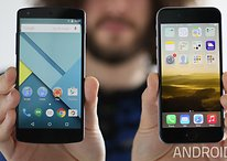 Nexus 5 (2015) vs iPhone 6s comparison: platform wars go nuclear