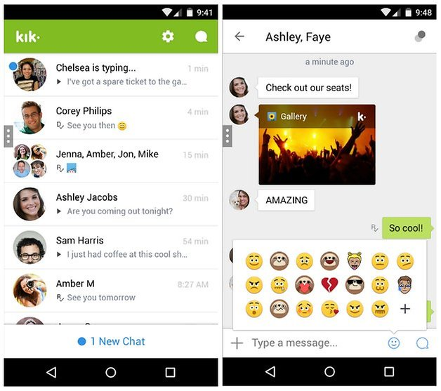 androidpit kik messenger screenshot