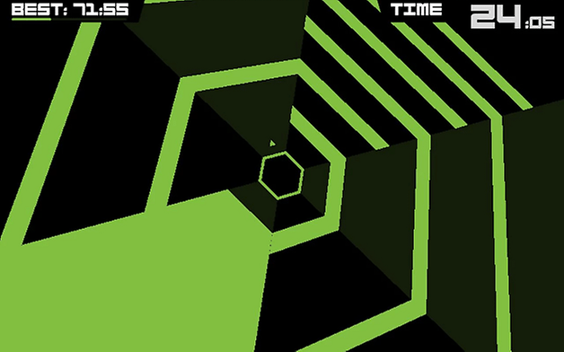 androidpit super hexagon best game