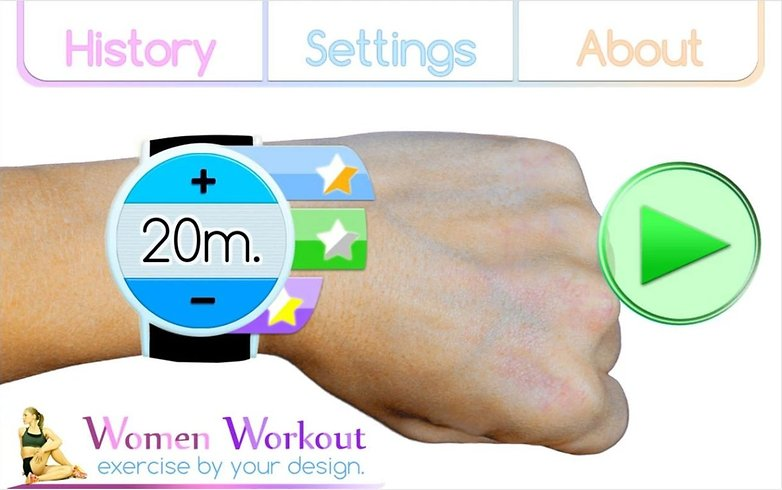 androidpit women workout app