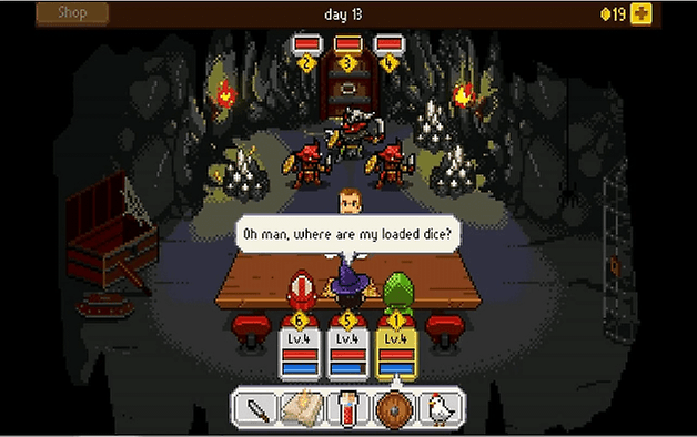 androidpit knights of pen and paper plus 1 screenshot