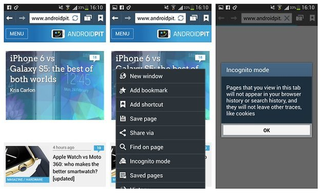 androidpit incognito private browsing